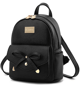 Cute Mini Leather Backpack Fashion Small Daypack