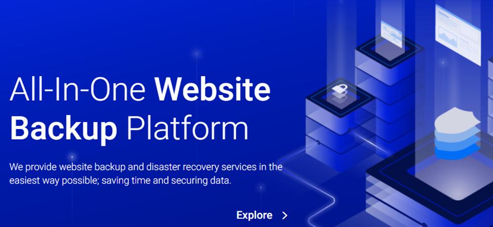 BackupGuard homepage