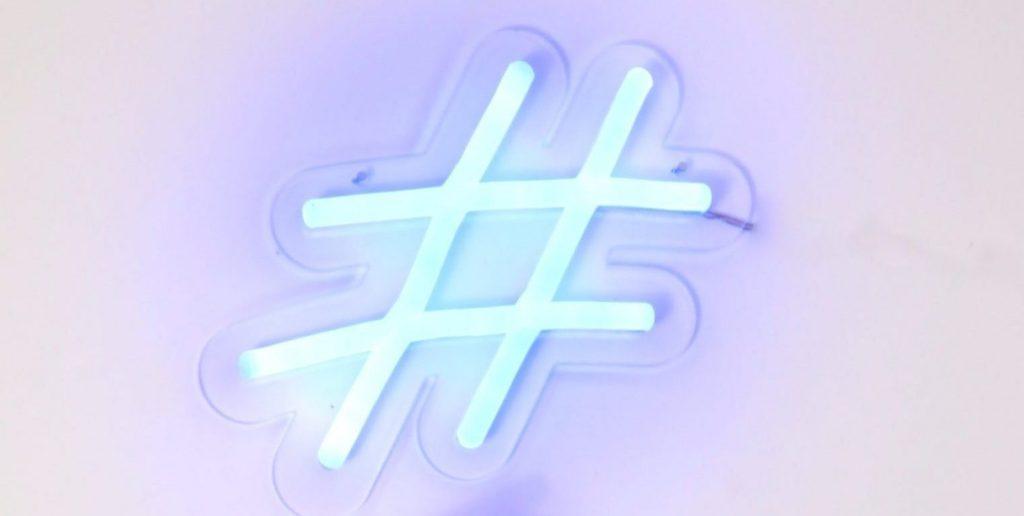 Image of hashtag