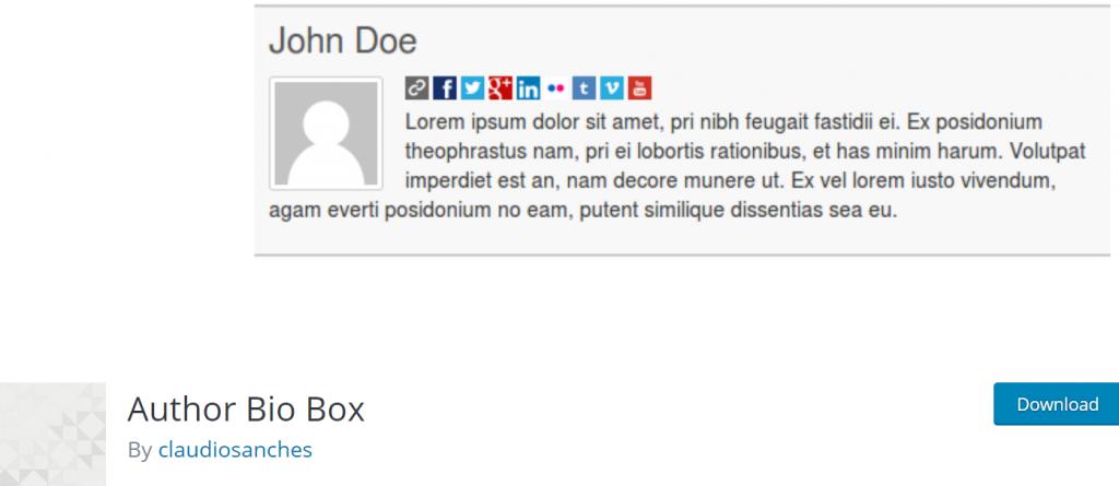 Author Bio Box banner