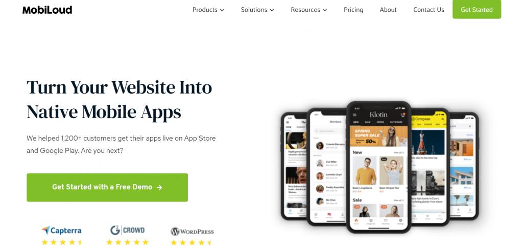 MobiLoud homepage