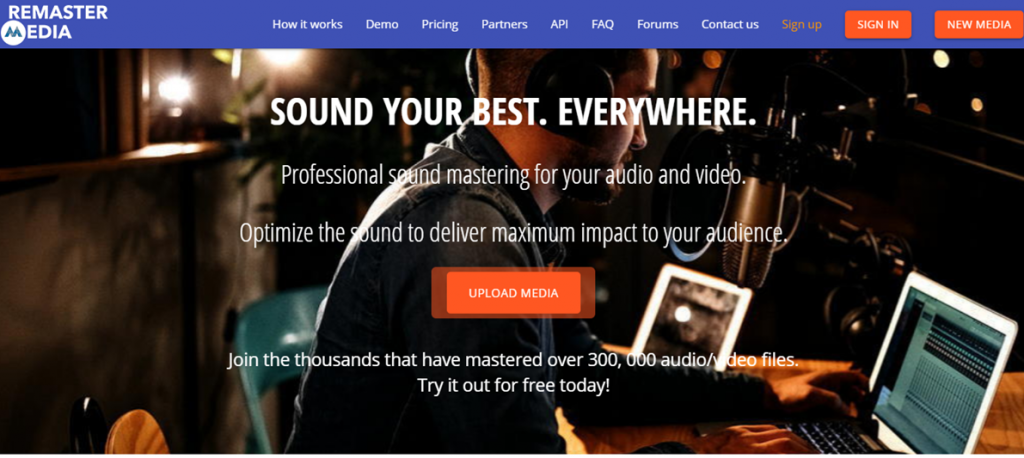 RemasterMedia homepage