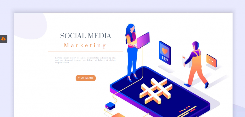 Social Media Marketing demo