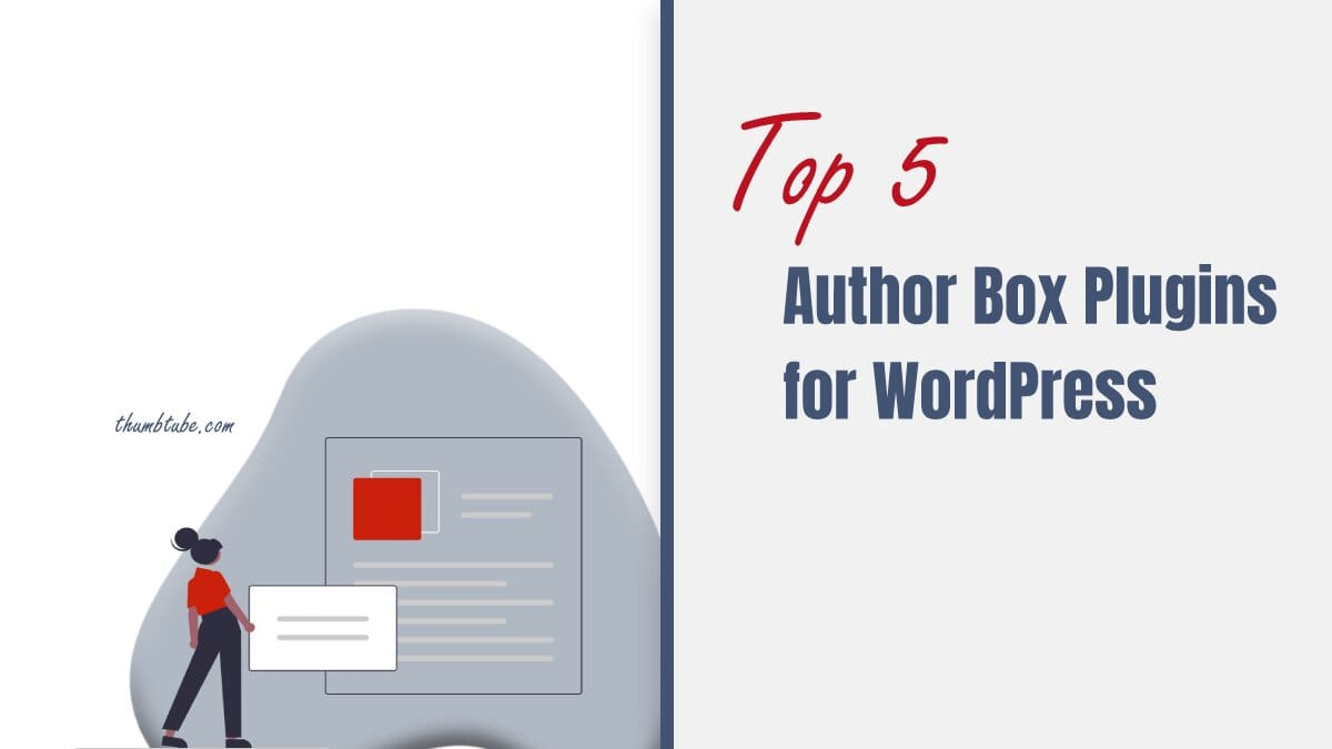 Top five WP author box plugins