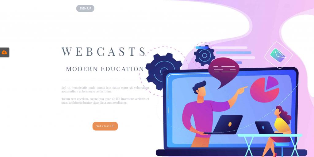 Webcast preview