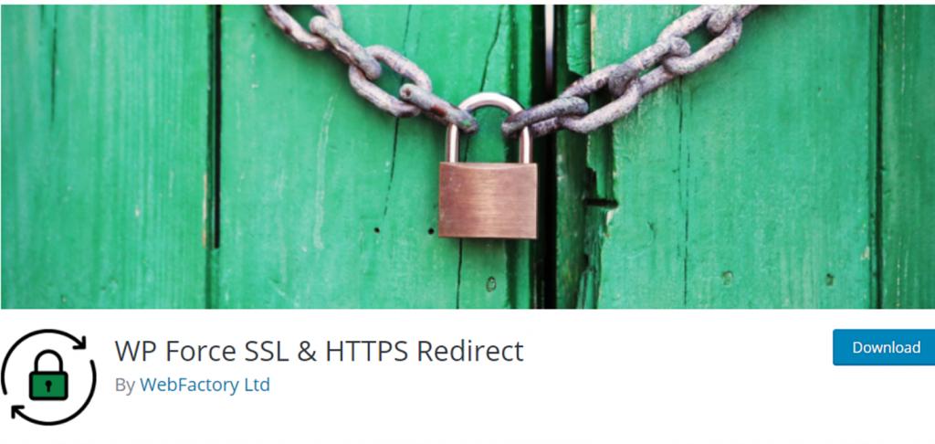 WP Force SSL banner