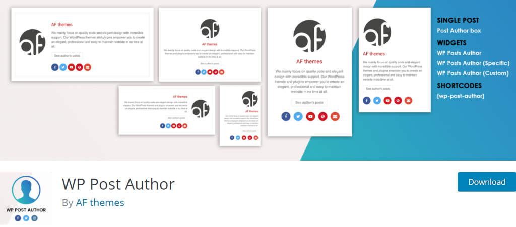 WP Post Author banner
