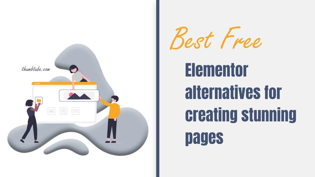 Best Free Elementor Alternatives