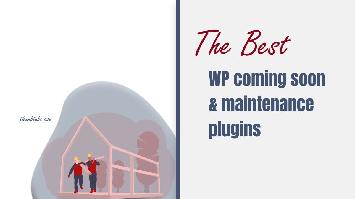 Best WP coming soon plugins