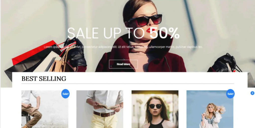 eCommerce Star preview