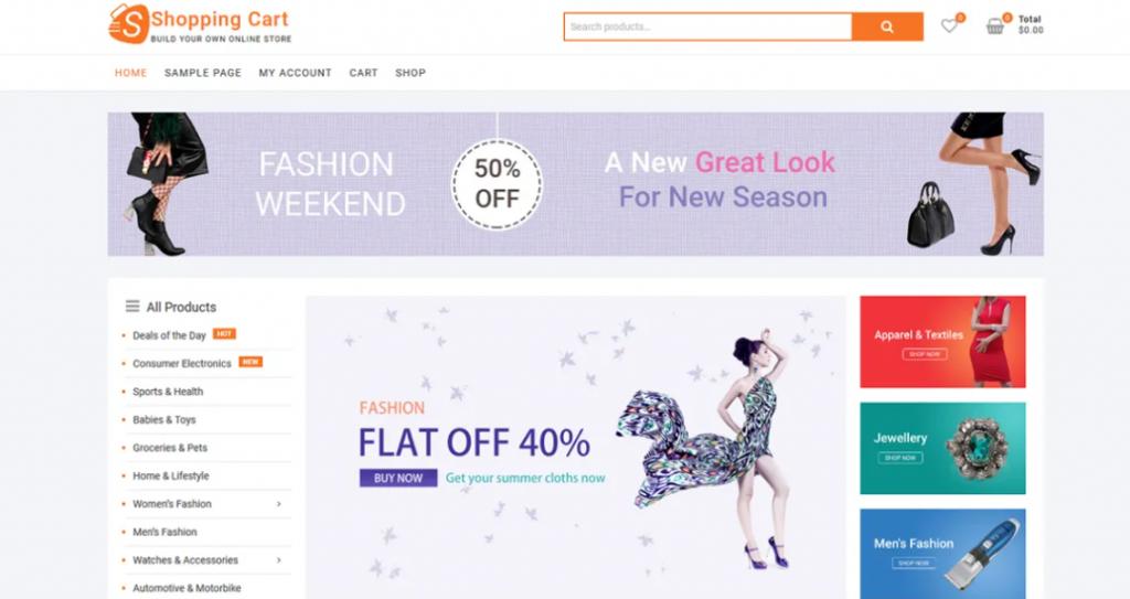 ShoppingCart preview