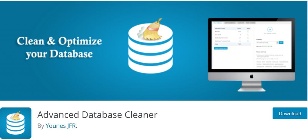 Advanced Database Cleaner banner