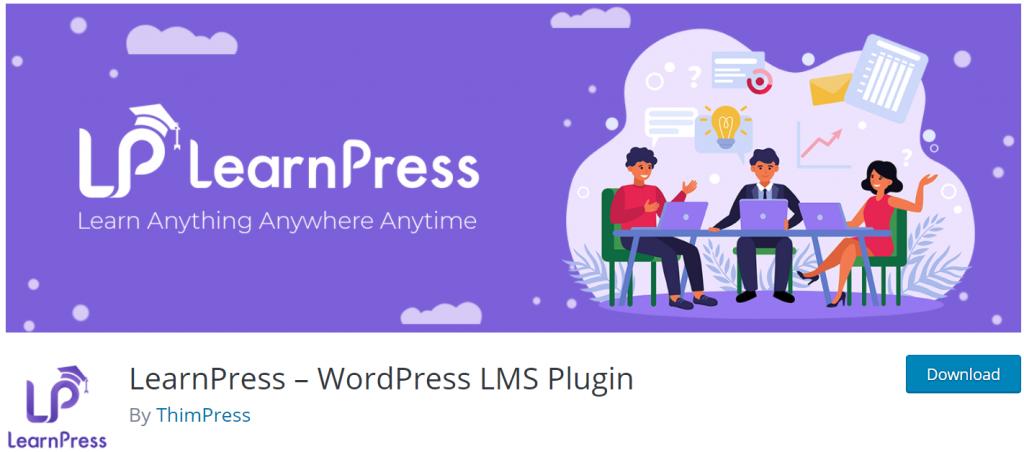 LearnPress banner