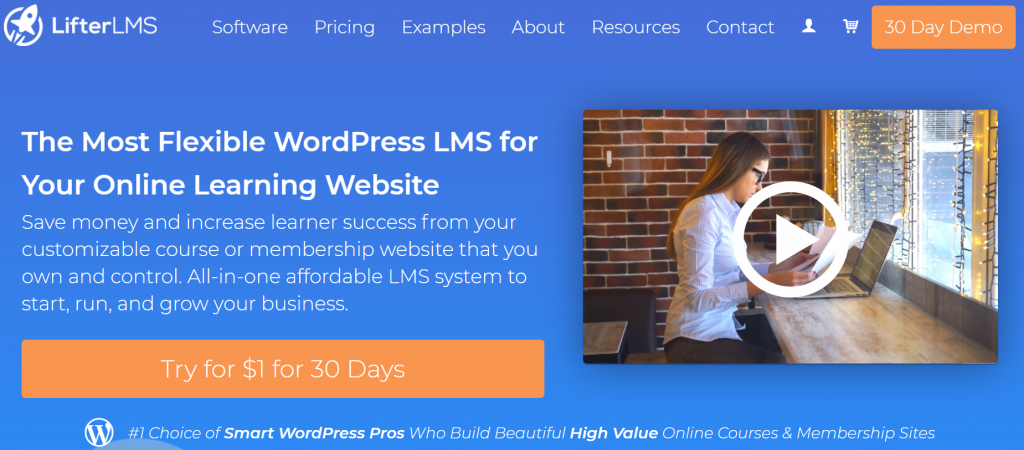 LifterLMS homepage