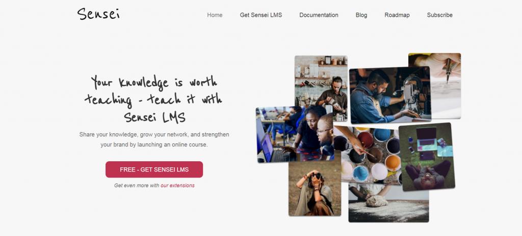 Sensei homepage