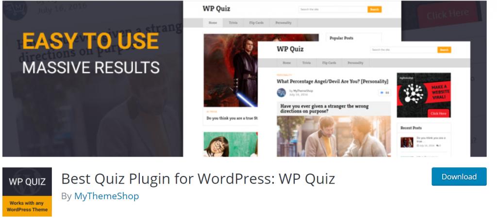 WP Quiz banner