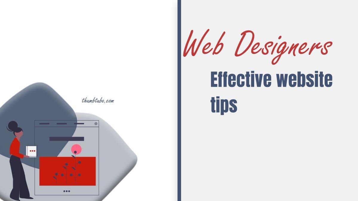 Effective Website Tips