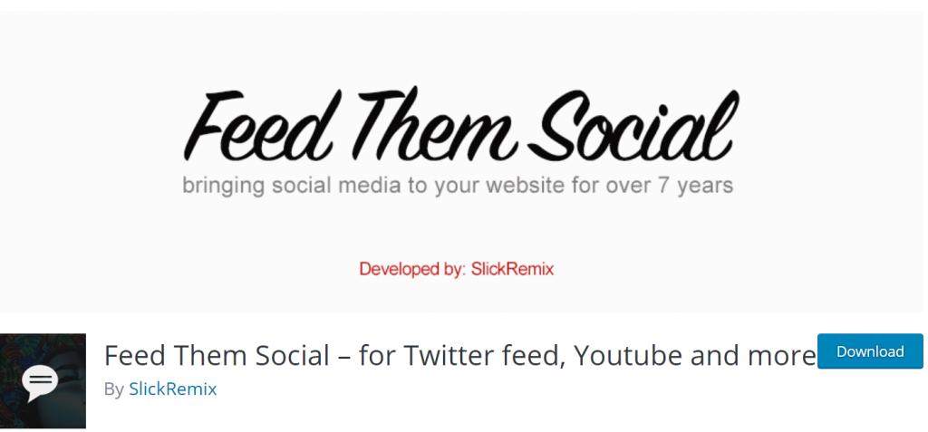Feed Them Social Banner