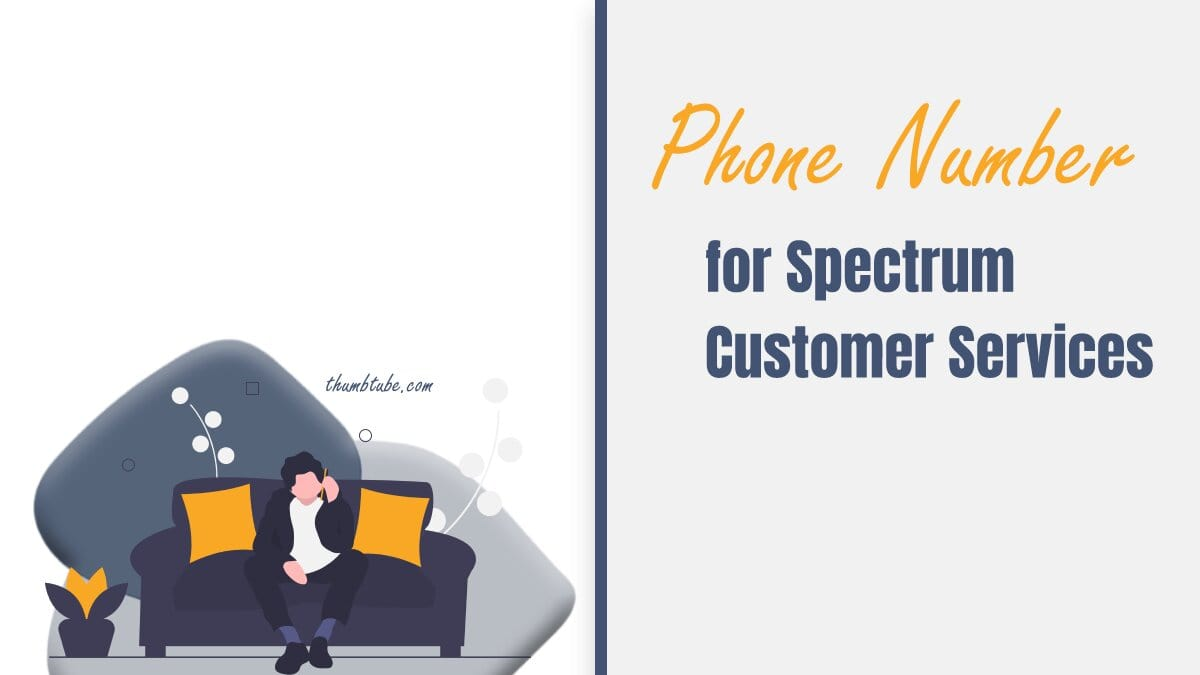 Phone Number for Spectrum Customer Services