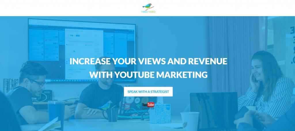Vireo Video homepage