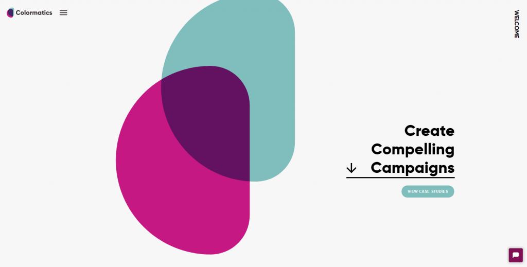Colormatics homepage