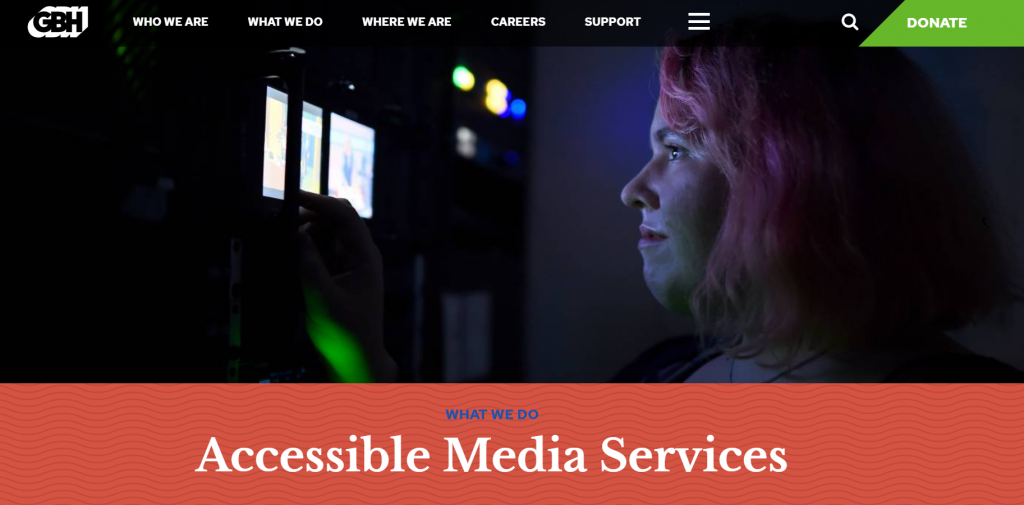 Media Access Group homepage
