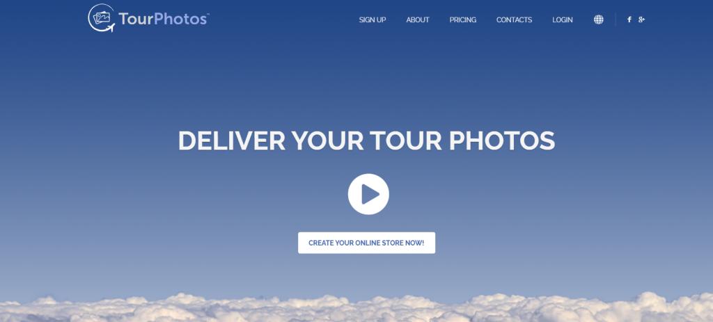 TourPhotos homepage